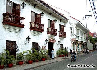 Die alte Festung Intramuros mit vielen Bauten aus der Kolonialzeit.